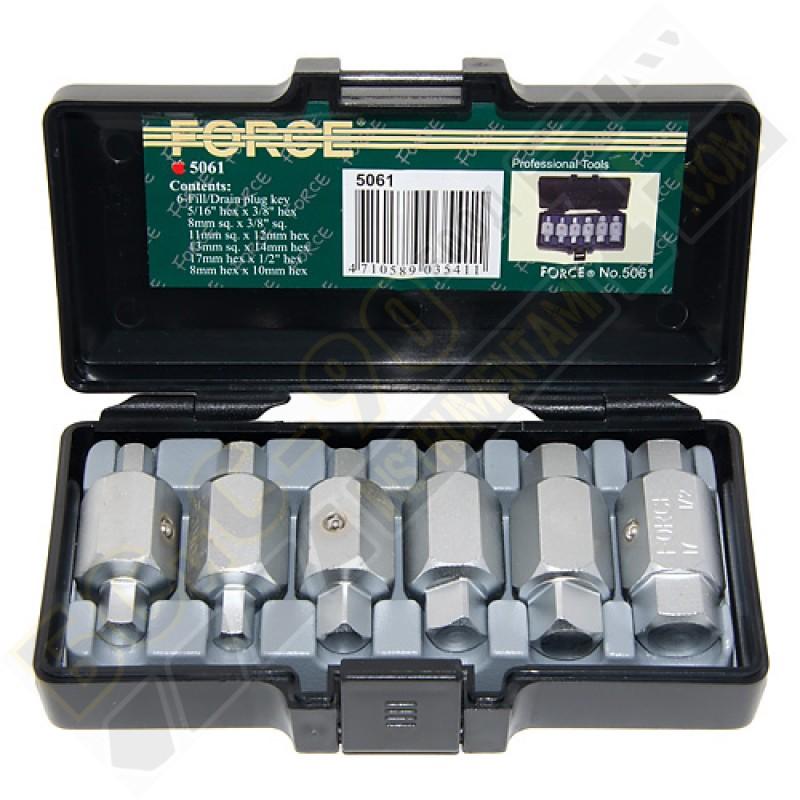Ключ за картер 6 части - 5061