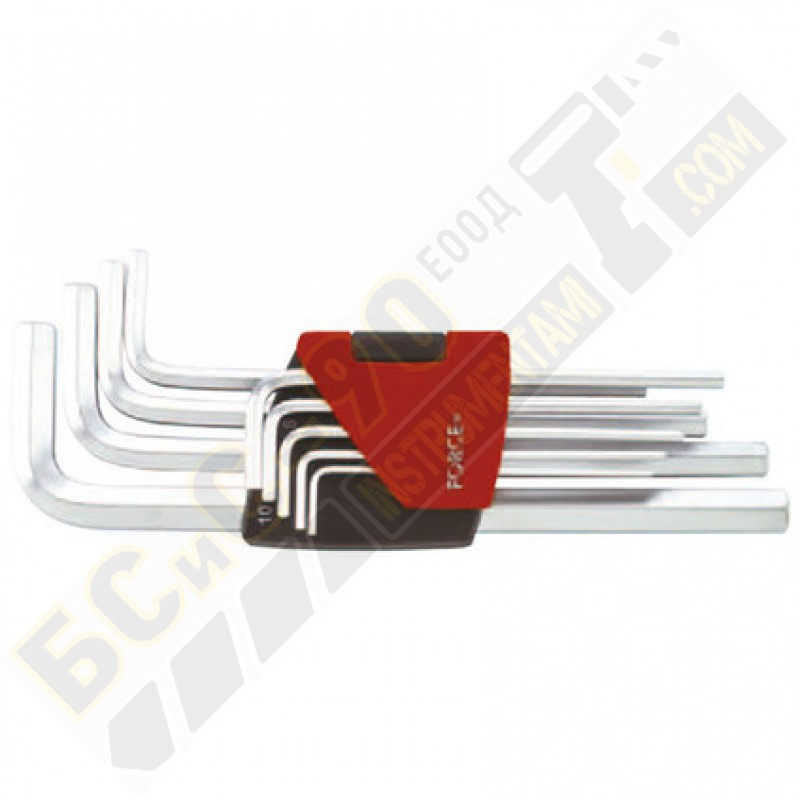 Шестограми г - образни удължени 9 части - 5093XL