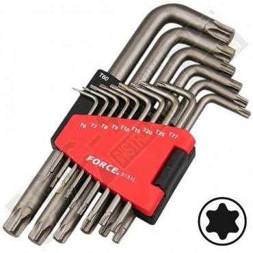 Шестограми г - образни удължени TORX 15 части - 5151L