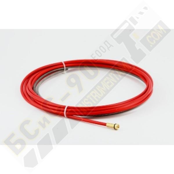 Броня за шланг на телоподаващо червена метална Ф 1 - Ф 1.2 - 4.5М
