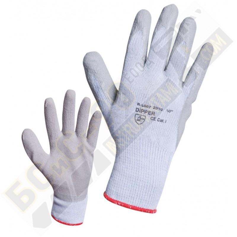 Ръкавици Сив латекс