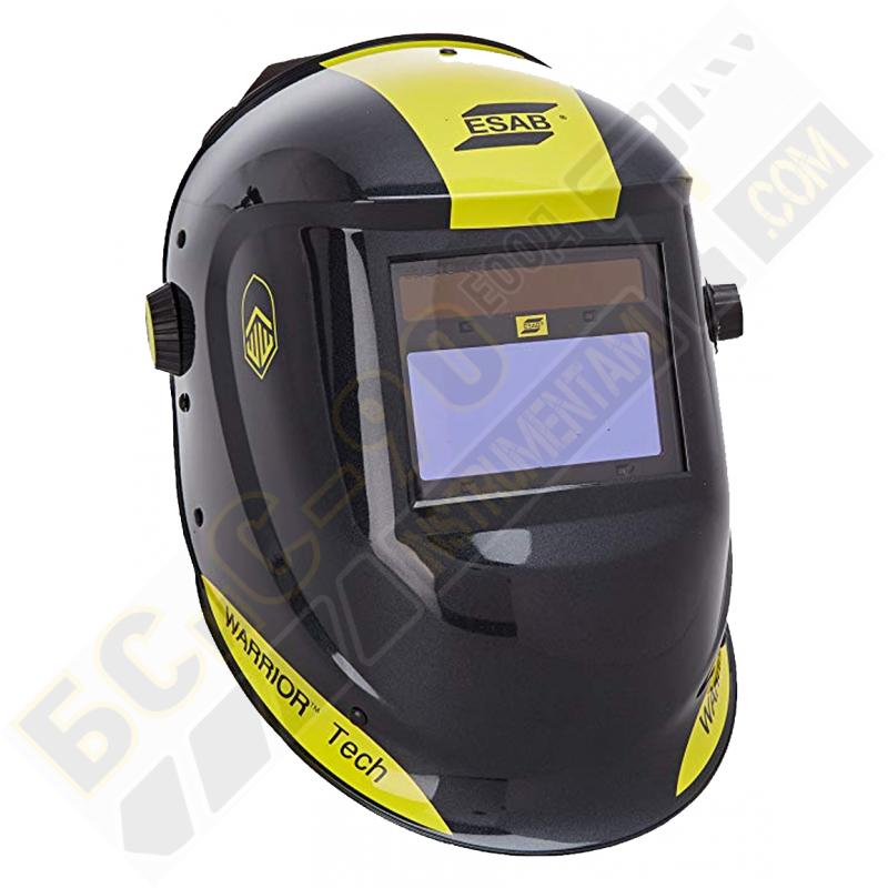 Заваръчен соларен шлем ESAB WARRIOR Tech - черен
