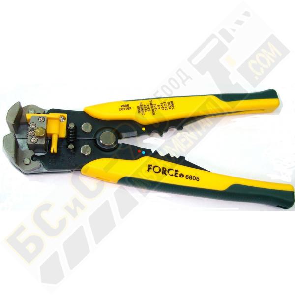 Клеща за оголване на кабели - Force - 6805