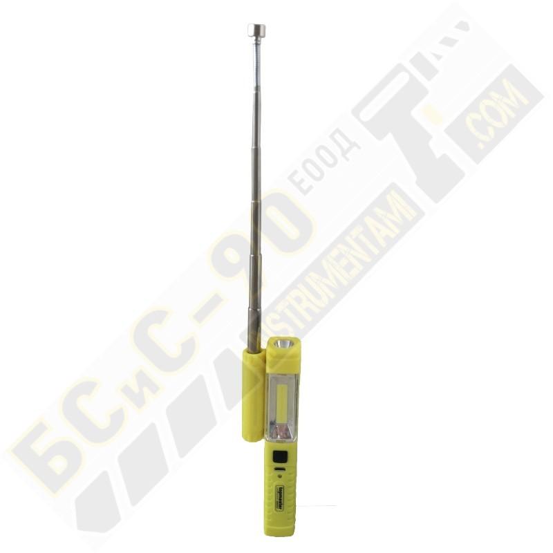 Акумулаторна работна лампа (фенер) лед с магнит - Topmaster