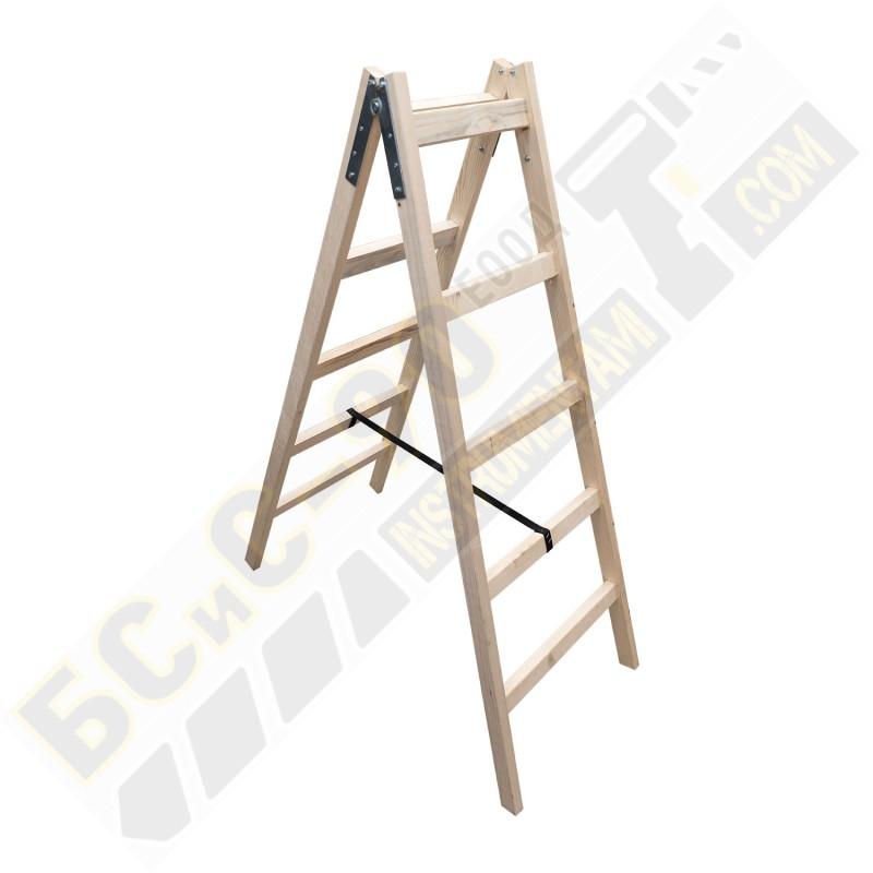 Стълба дървена - 1.5м