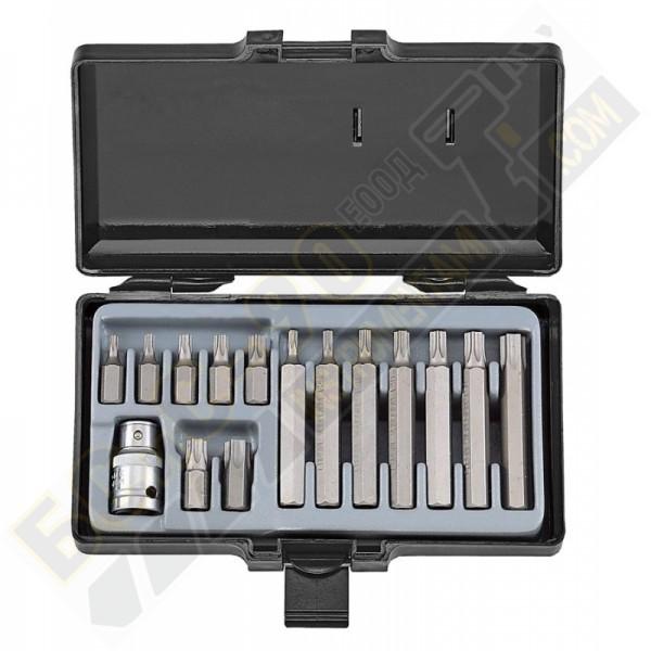 Накрайник Торкс комплект - 15 части - 4156