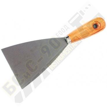 Шпакла с дървена дръжка - 40 мм - Topstrong - 320701