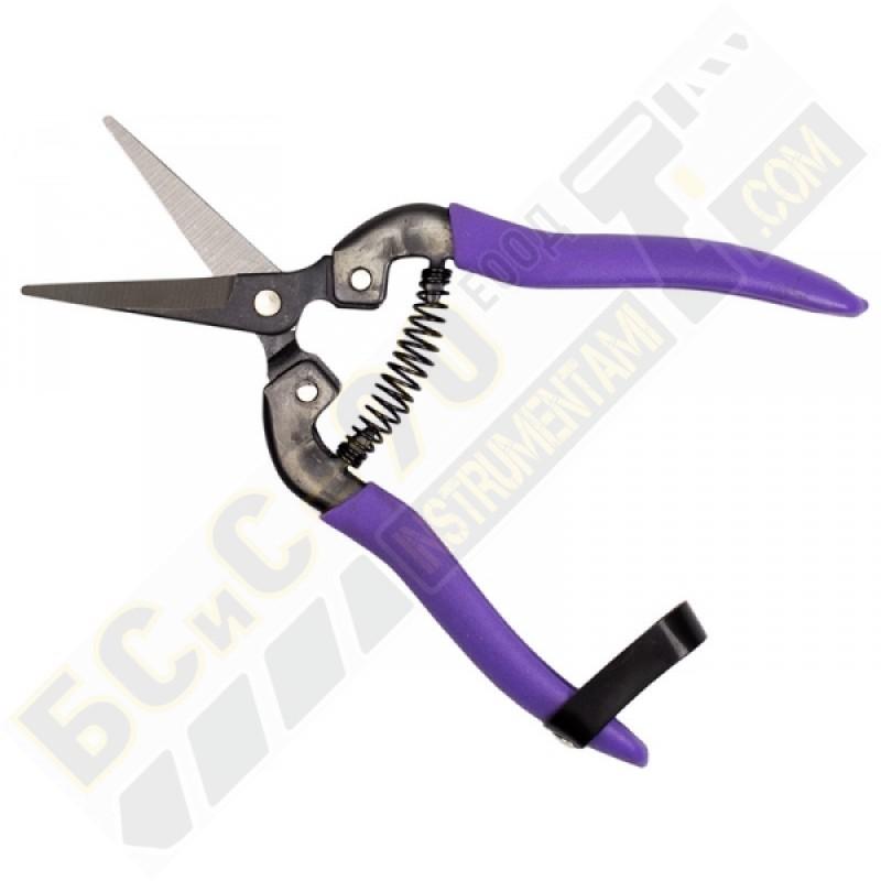 Ножица за цветя - 180 мм - спирална пружина - PALISAD - 605548