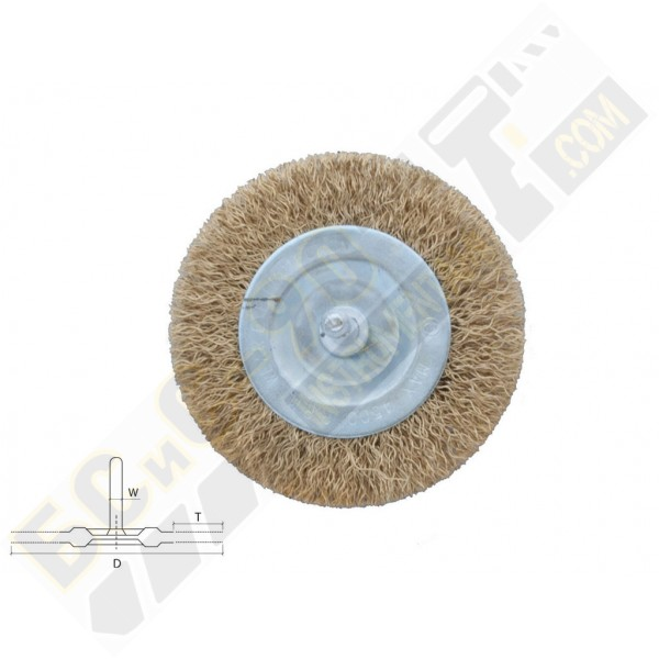 Четка телена за бормашина дискова 50мм - Bolter - 53954