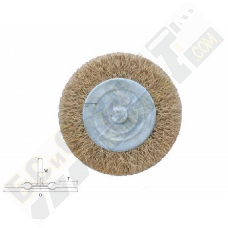 Четка телена за бормашина дискова 75мм - Bolter - 53955
