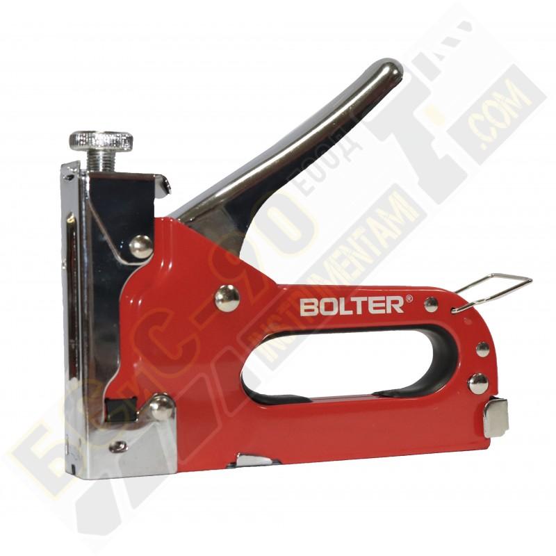Такер ръчен комбиниран 3 в 1 HQ 4-14мм - Bolter - XG53243