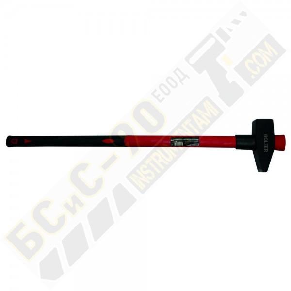 Чук с дръжка от фибростъкло 3кг - Bolter - XG54106