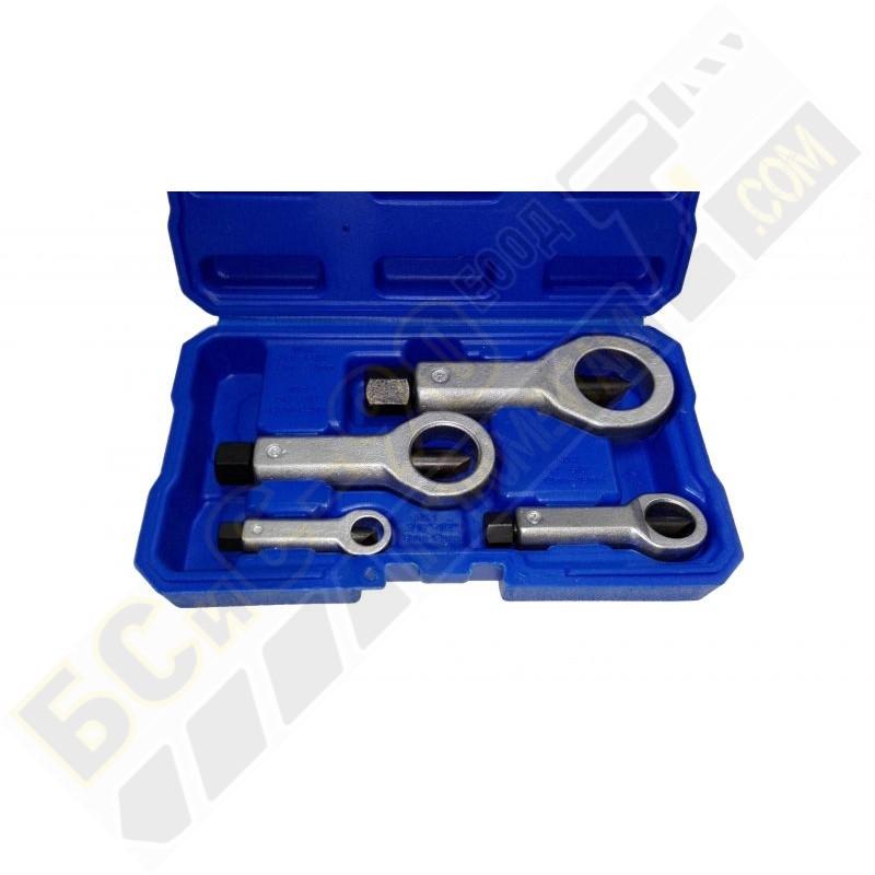 Комплект за рязане на гайки 4 части (ГАЙКОЦЕП) - 50227