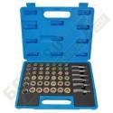 Инструмент за ремонт на пробки на картери - 114 части - 50628