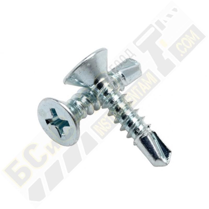 DIN 7504 Самопробивен винт - фрезенкова глава